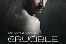 """the crucible. London. 2014.  Mr. Richard Armitage / Il poliedrico Mr. Richard Armitage interprete de """"Il crogiolo"""" di A. Miller, tenuto a Londra al the Old Vic theatre. L'ho visto il 7 agosto 2014. Impagabile!"""