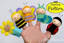Children: Finger & Hand Puppets