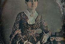 Early Victorian dress fabrics