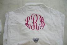 Monogrammed Columbia Fishing Shirt