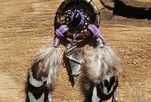 Attrape rêves / attrape rêves tribal, dreamcatcher, labradorite, labradorite violette, opale d'Ethiopie, amérindien
