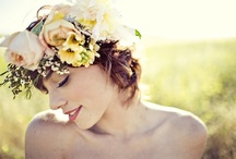 Floral Head dress  / for the styled shoot