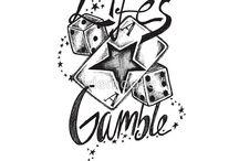 Gambling Tatoos