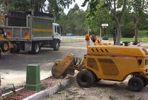 Stump Removal / Stumps are the leftover or more precisely the bottom edge of the tree after cutting. Even though the stump is protruding the roots are still deep underground and so extra precaution has to be taken before starting the stump grinding process.