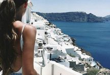 Greece girl photos