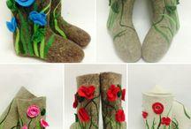 Boots. Valenki