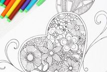 Coloring Pages for Adults / Tons of free coloring pages for adults, must have coloring books for adults and tips and tricks.