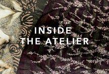 INSIDE THE ATELIER / MOOD BOARD INSPIRATION