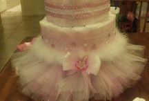 torta niña baby shower