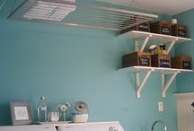 laundry room re-do / by Heather Carr