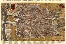Madrid maps