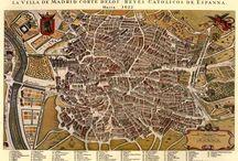 Madrid maps