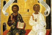 ikony trójca/ Trinity icons