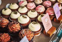Cake stall presentation