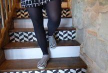 Escaliers relookés
