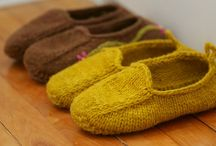 knit loafers