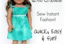 Dolls clothes for Daisy's birthday