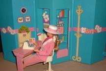barbiet kotona / 80-luvun Barbie