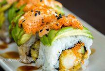 Sushi og sånt....