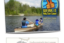Wear it Campaign / Holy Cow Canoe proudly supporting the Wear It campaign National safe boating week