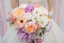 Lavender Peach wedding / Inspiration for your wedding from White Mischief Bridal