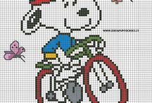 Cross stitch - Snoopy