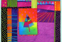 Color Schemes: Saturated Primaries and Secondaries / by Carol Simmons