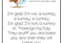 Let's talk turkey theme