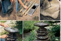 Creative Crafts / Using natural stone in your garden and other cool small project ideas