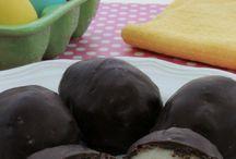 Easter / Coconut cream eggs