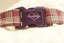 Our collars! / This is our new stuff! Handmade dog collars! Check `em!