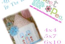 embroidery wish list / Machine embroidery designs