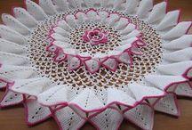 pañitos y manteles crochet