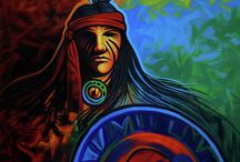 NATIVE AMERICAN ART / Contemporary Southwest Paintings and Original Contemporary Western Paintings are available at http://lanceheadlee.com