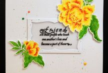 """Mes cartes """"Amis"""" / My cards """"Friends"""""""
