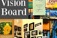 "Creative Visualization and Vision Boards / Aid to my book ""Tou ARE good enough."""