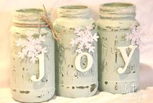 shabby chic christmas decorations