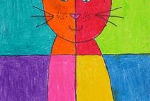 Pablo picasso Cat for kids