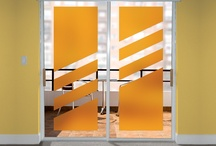 Creative Ways to Cut Deco Tint Film / Create your own look by cutting Wallpaper For Windows Deco Tint Color Window Film.  / by Wallpaper For Windows