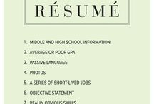 CV and Cover Letter