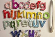 sewn Alphabet