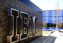 IBM Logo and buildings shots