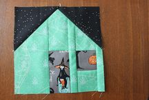 Halloween Houses Quilt Along at Daydreams of Quilts