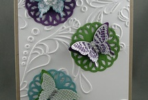 Papillon Potpourri / Made using Stampin' Up! Papillon Potpourri stamp set.