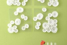 DIY Wall Art / Ideas to make your own wall decor, easy and crafty! :)