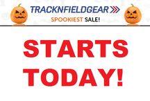 Halloween Sale! / SPOOKIEST SALE STARTS! http://www.tracknfieldgear.com