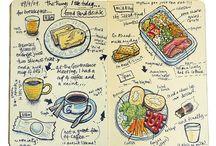 Ilustración gastronomia