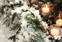 Baby it's cold outside - winter decor / by Carissa Greschner