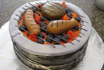 BBQ Inspiration for Father's Day / A great collection of BBQ grilling themed cakes for any occasion!