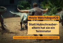 Movie Watchdogs / Video Podcast. Three middleaged nerds talking about movies. In German